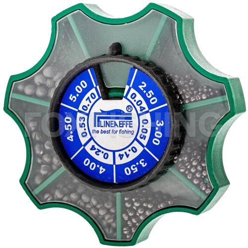 Дробь LINEA EFFE SPLIT SHOTS от 0,04 до 0,7    170 гр. фото №1