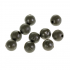 Бусины NAUTILUS art. Soft Beads 4mm olive green фото №1