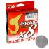 Плетеный шнур DAIWA J-BRAID GRAND X8 135м. 0.06мм. GRAY LIGHT фото №1
