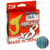 Плетеный шнур DAIWA J-BRAID GRAND X8 135m 018 MULTICOLOR фото №1