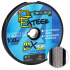 Плетеный шнур PONTOON 21 EXTEER X4 100м. 0.285мм. GRAY фото №1