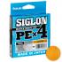 Плетеный шнур SUNLINE SIGLON X4 150м. 0.242 ORANGE фото №1