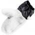 Варежки KOSADAKA ARCTIC черный мех овчина XL фото №2